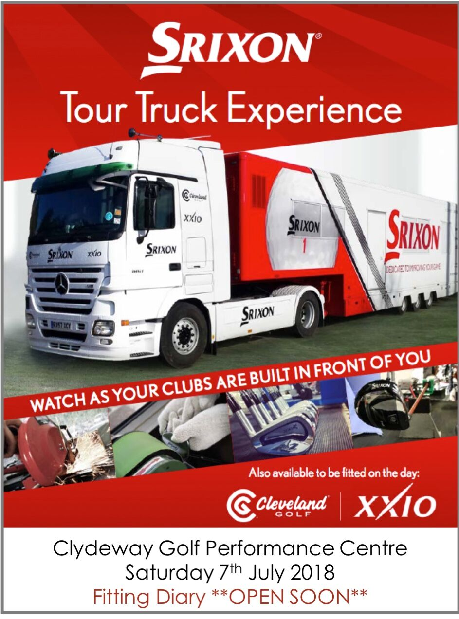 Poster for Srixon Tour Experience