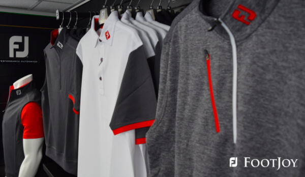 image of footjoy tops in Clydeway Golf pro shop
