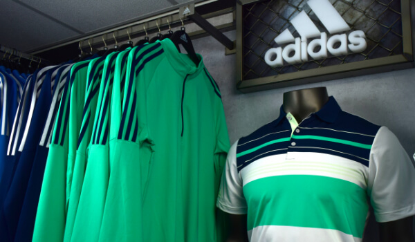image of adidas tops in pro shop