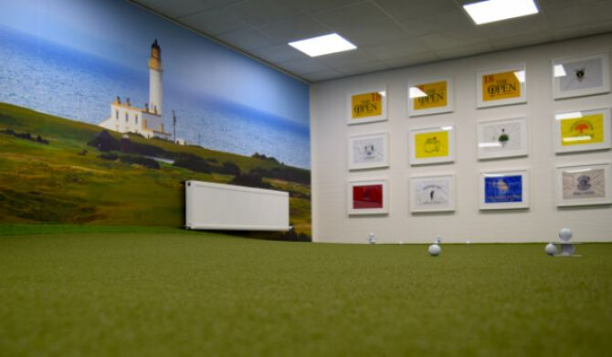image of the putting lab